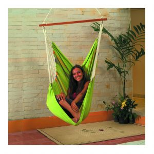 Cotton Fabric Swing (Green)