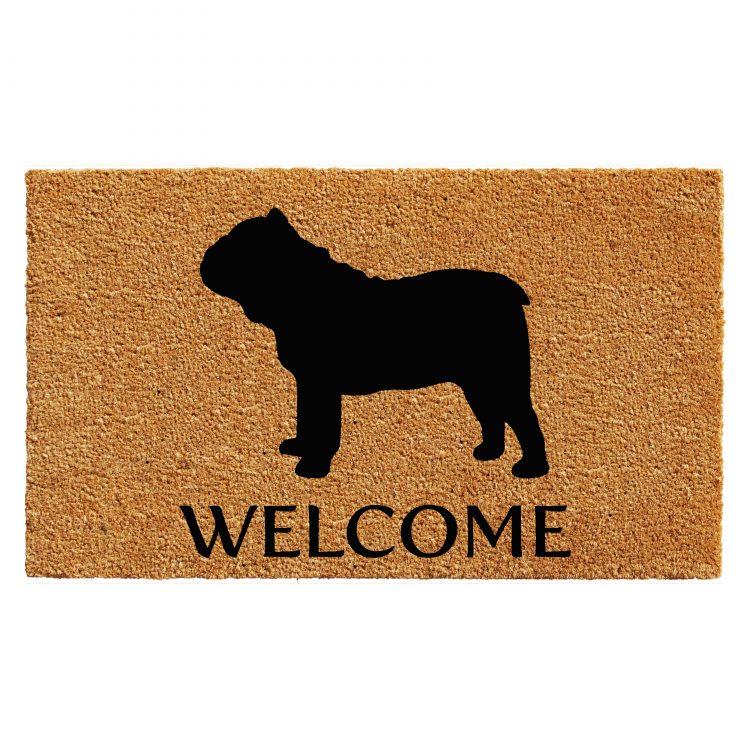 Bull Dog Doormat