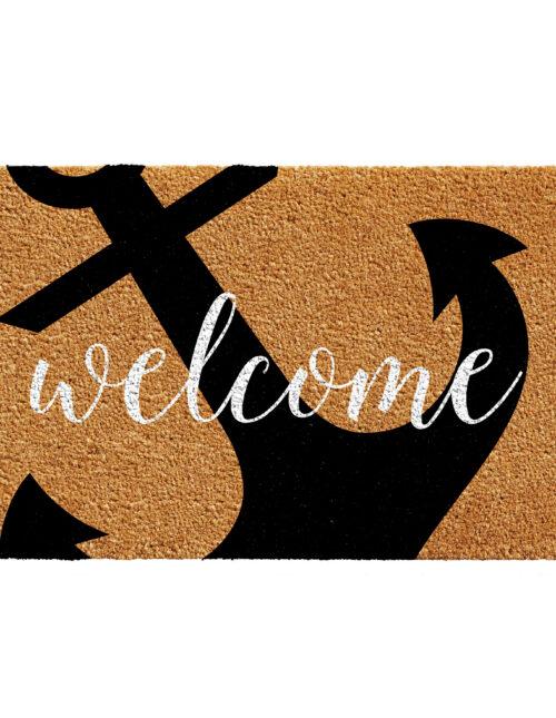 Anchor Welcome Doormat