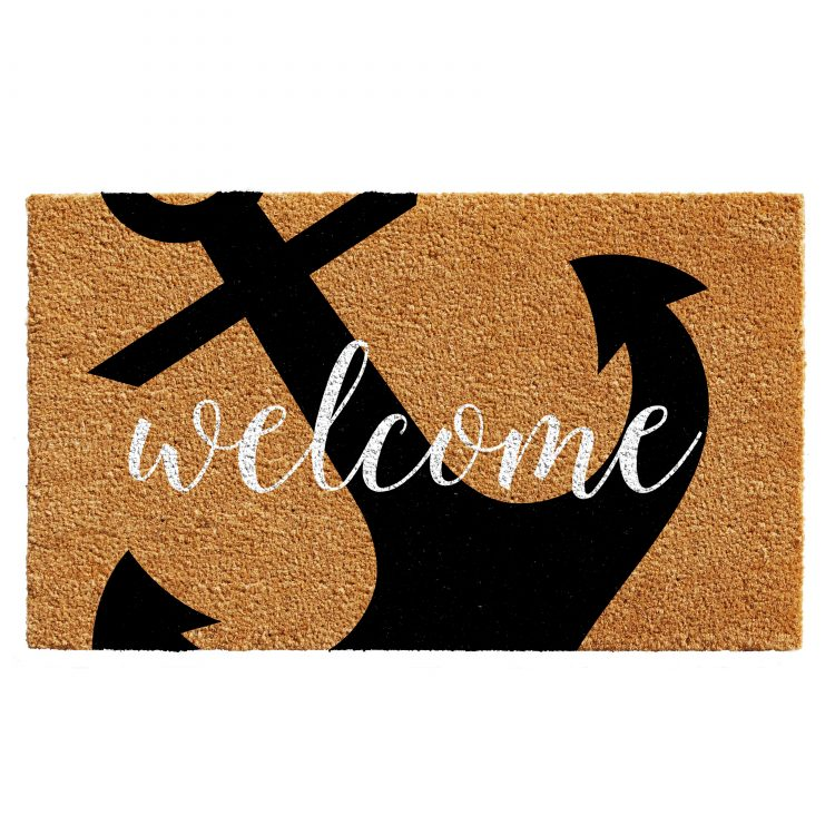 Anchor Welcome Doormat