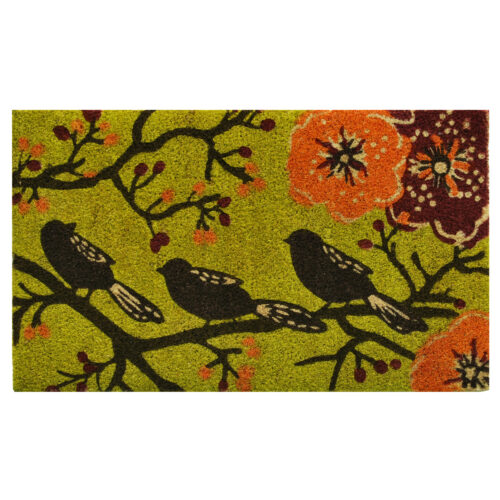 Birds in a Tree Doormat