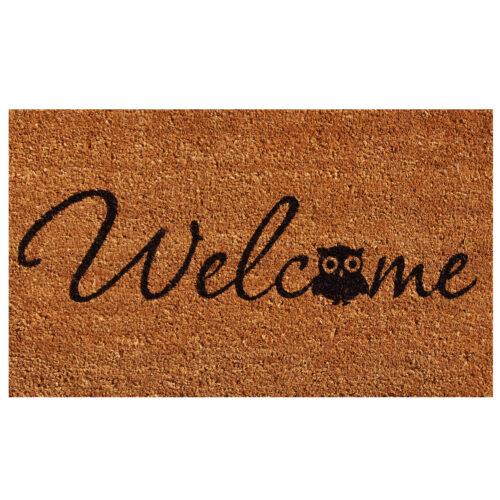 Barn Owl Welcome Doormat