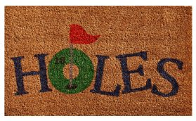 18 Holes Doormat