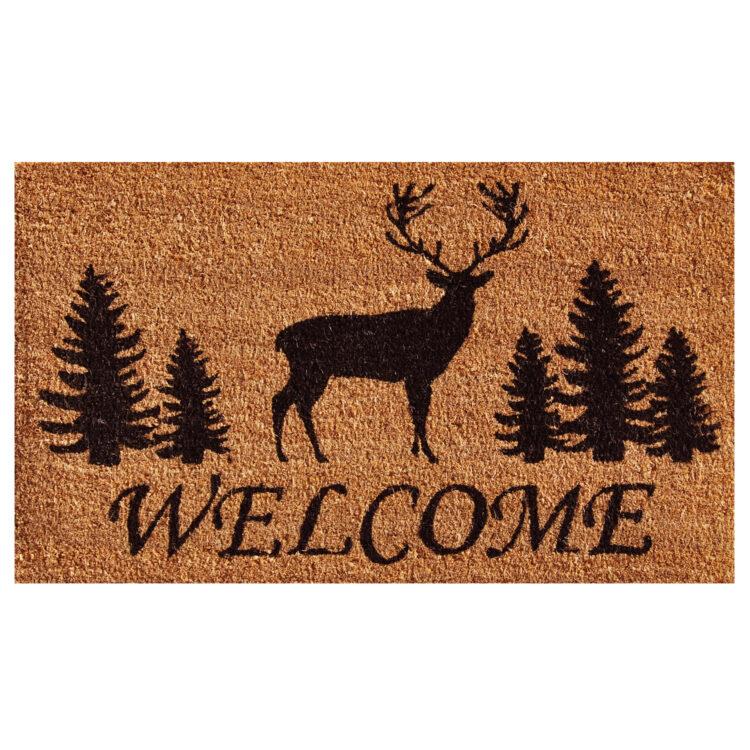 Elk Forest Welcome Doormat