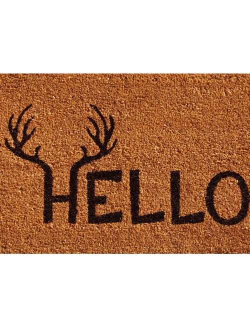 Antler Hello Doormat