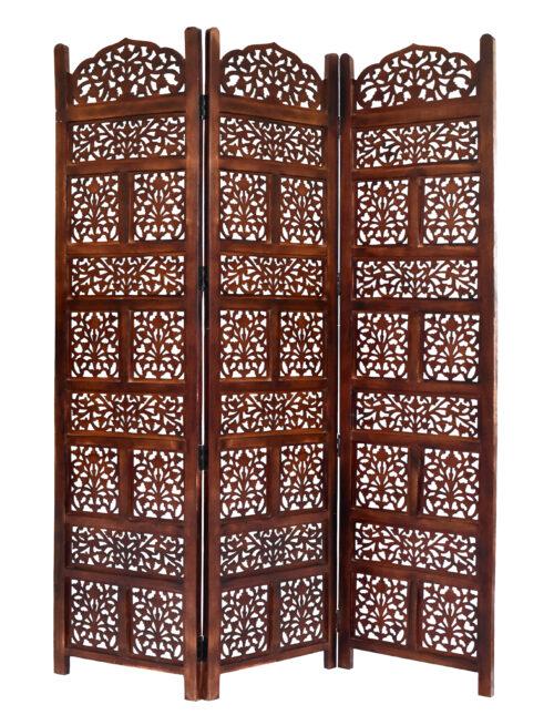 Darrtmast 3 Panel Wood Screen