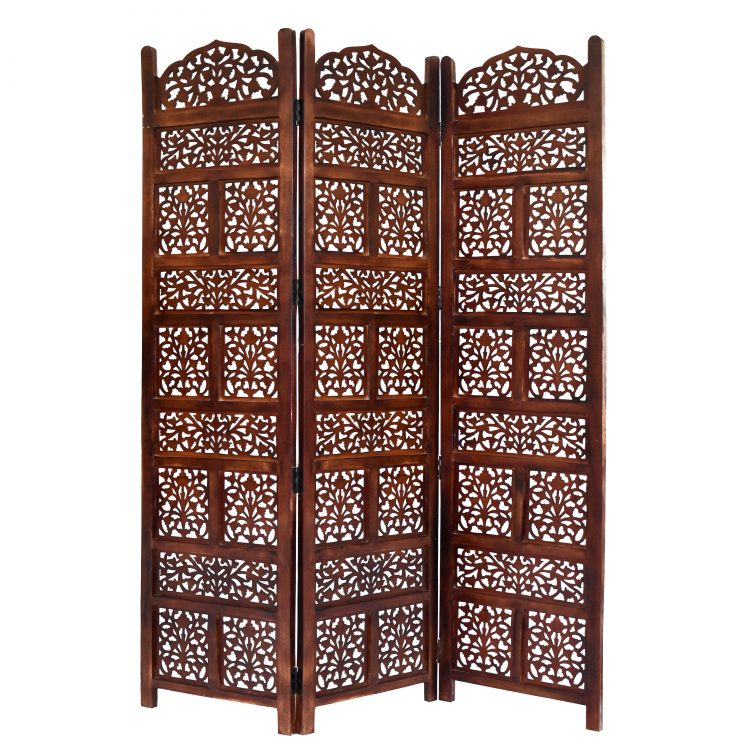Darrtmast 3 Panel Wood Screen