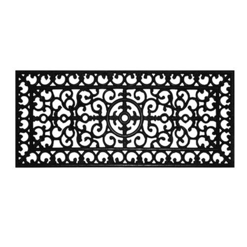Fleur De Lis Rubber Doormat 1'5 x 3'5