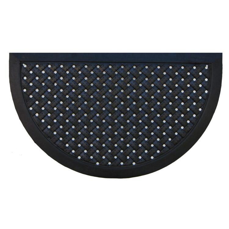 """Hampton Weave Rubber Doormat 20"""" x 36"""""""