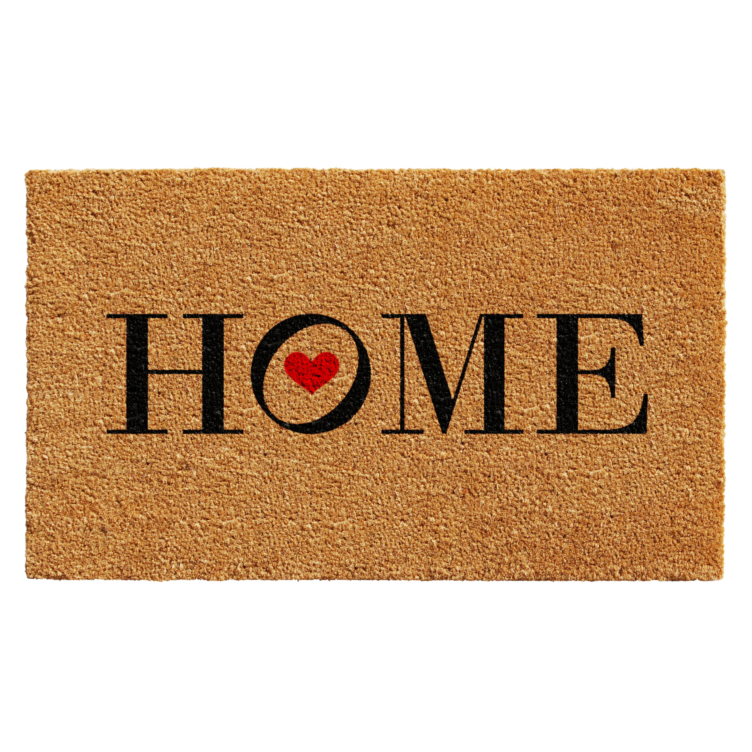 Heart Home Doormat