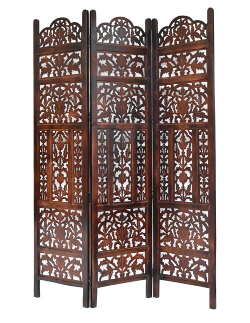 Monarch 3 Panel Wood Screen