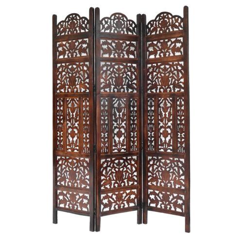 Monarch 3 Panel Wood Screen