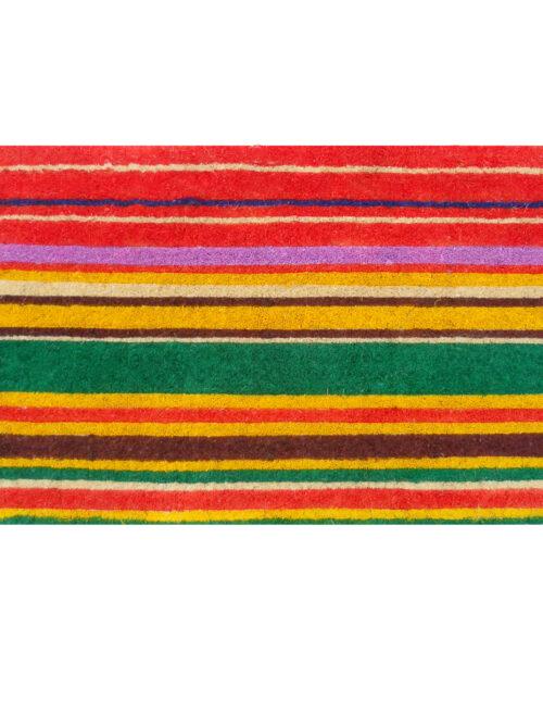 "Natural Coir Stripe Doormat 18"" x 30"" (1½"" Thick)"