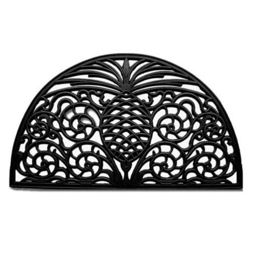 """Pineapple Grandeur Rubber Doormat 18"""" x 30"""""""