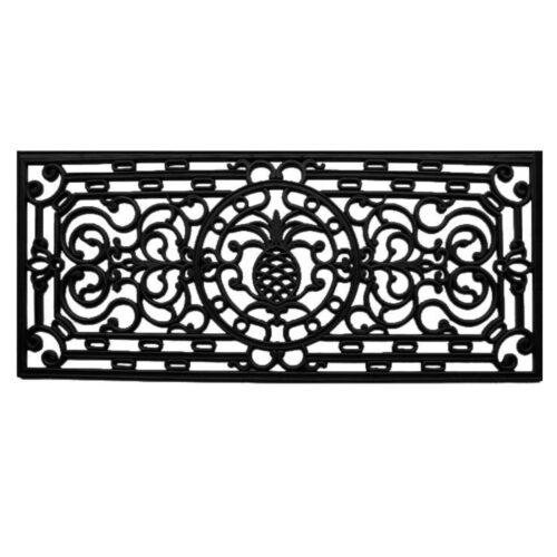 Pineapple Heritage Rubber Doormat