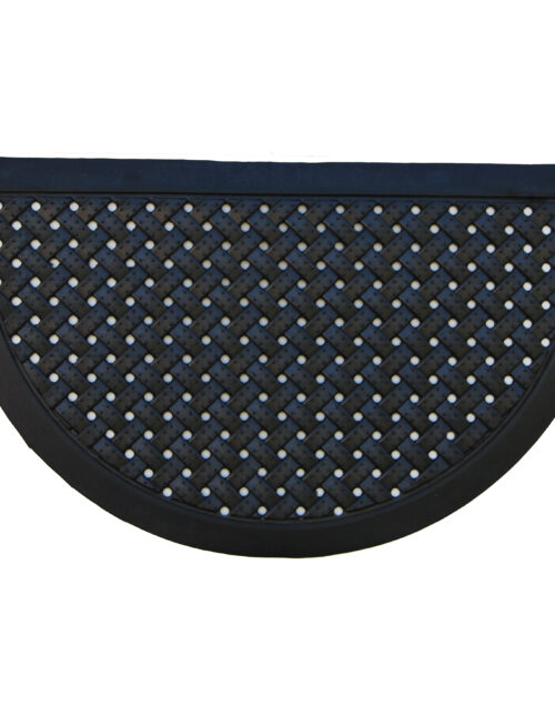 """Rubber Dual Scraper Doormat 18"""" x 30"""""""