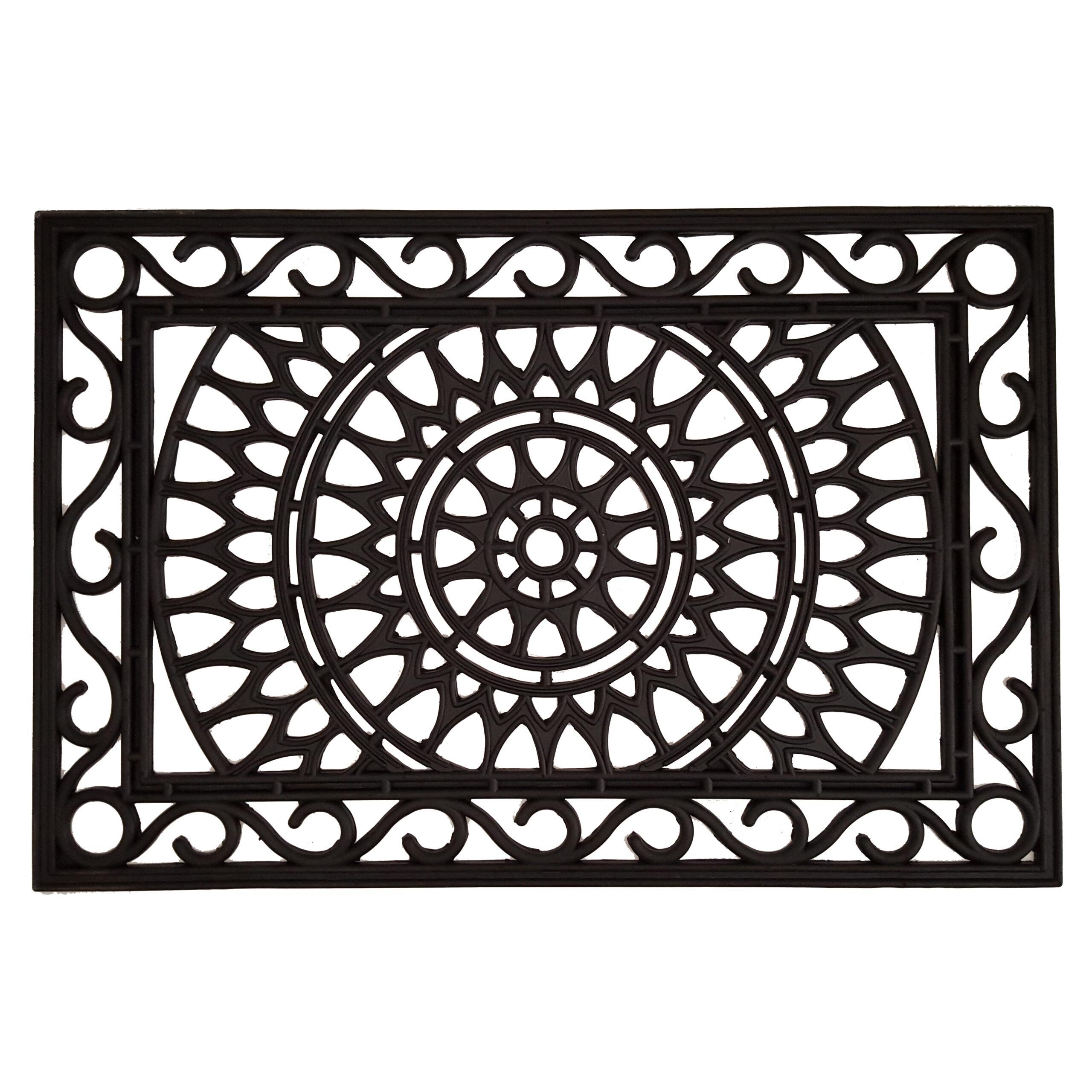 "Sungate Rubber Doormat 24"" x 36"""