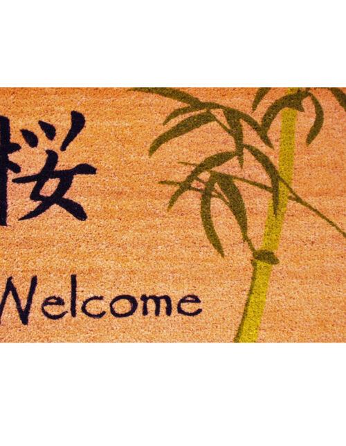 Asian Welcome Doormat