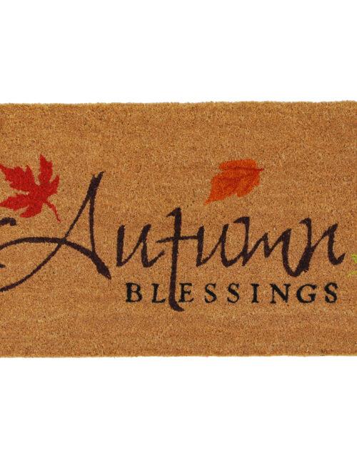 Autumn Blessings Doormat