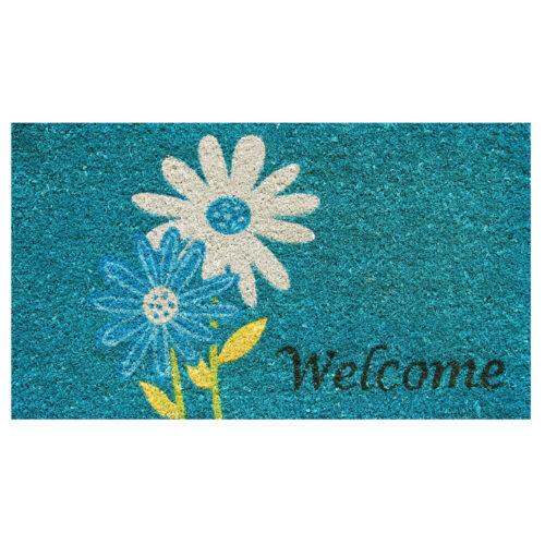 Daisy Welcome Doormat