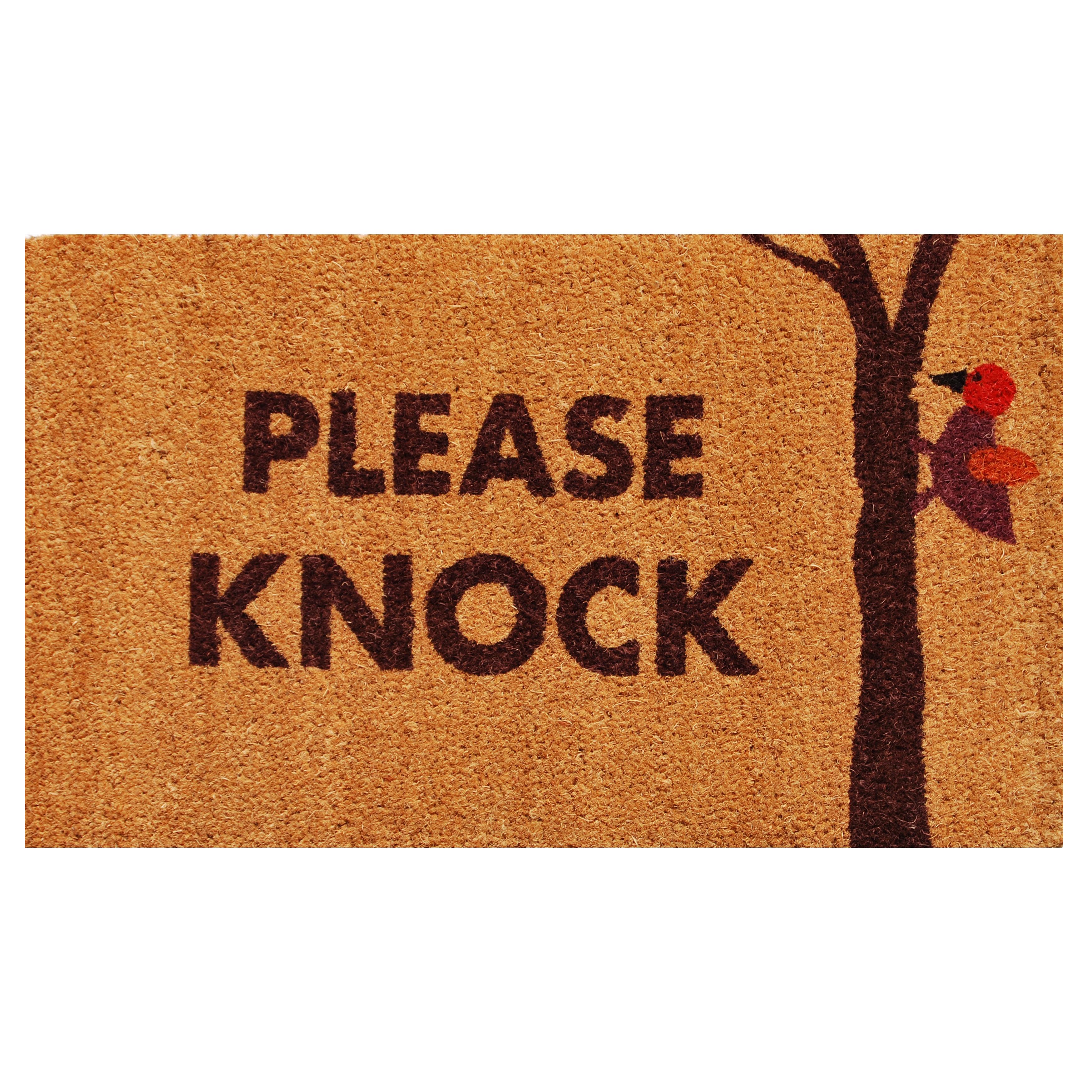 Please Knock Doormat Callowaymills