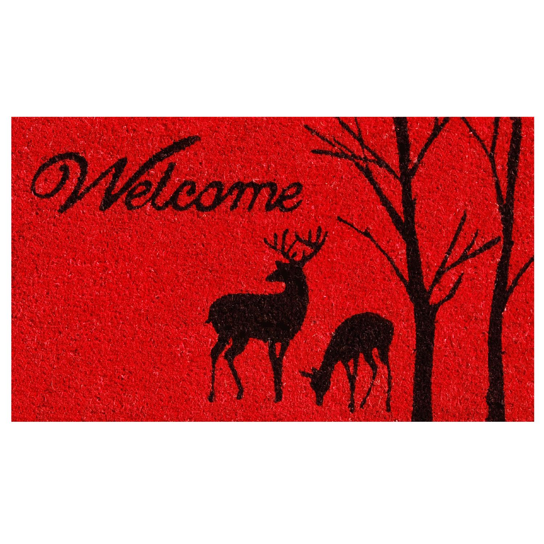 Winter Welcome Doormat Callowaymills