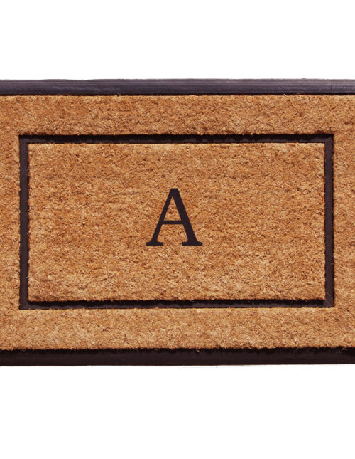 The General Monogram Doormat