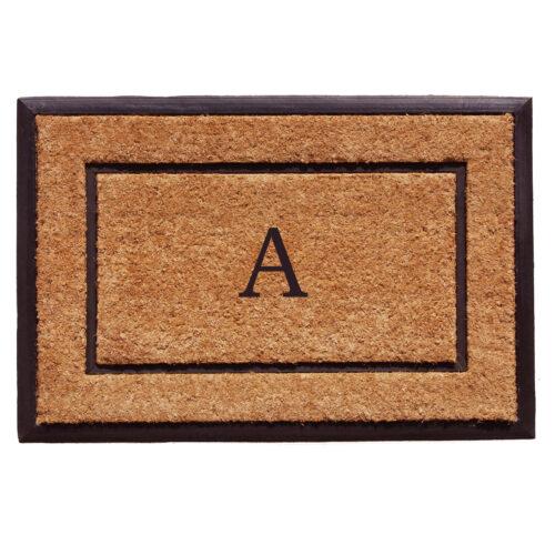 The General Monogram Doormat