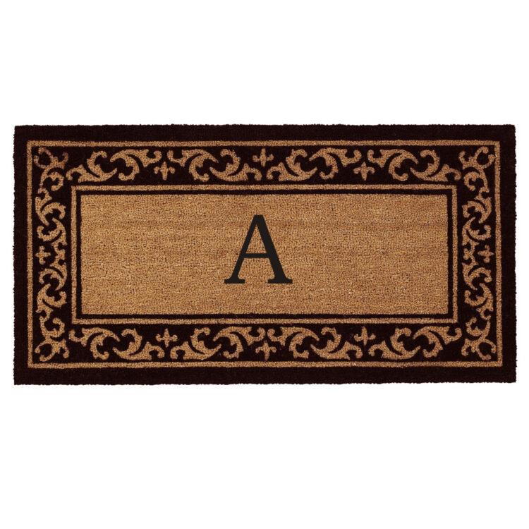 Kendall Monogram Doormat
