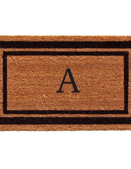 Monogram Border Mats
