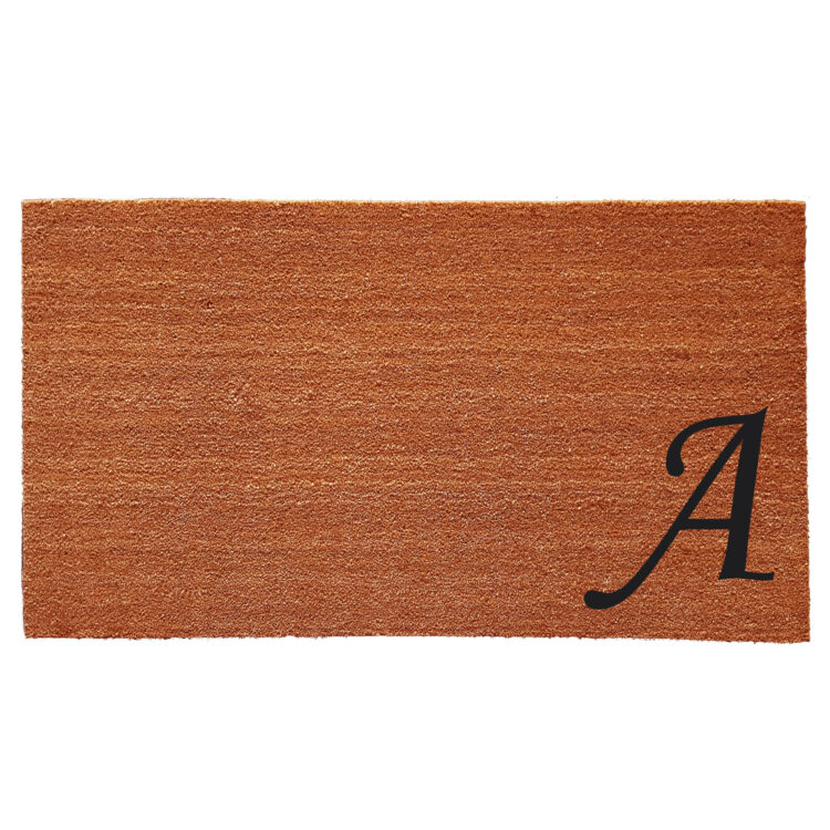 Urban Chic Monogram Doormat