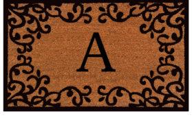 Chateaux Monogram Doormat