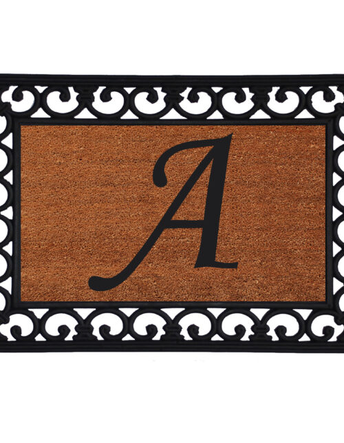 Monogram Insert Doormat
