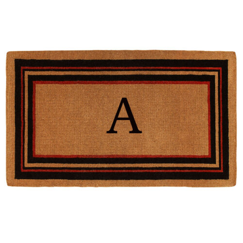 Esquire Monogram Doormat