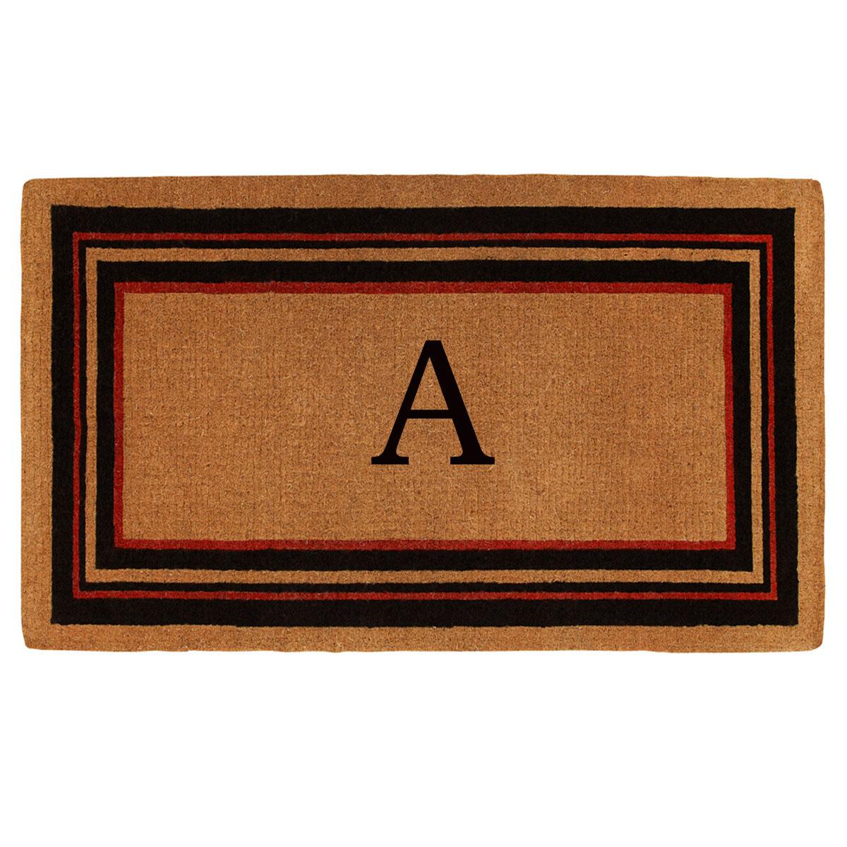 Esquire Monogram Doormat