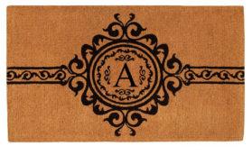 Garbo Monogram Doormat
