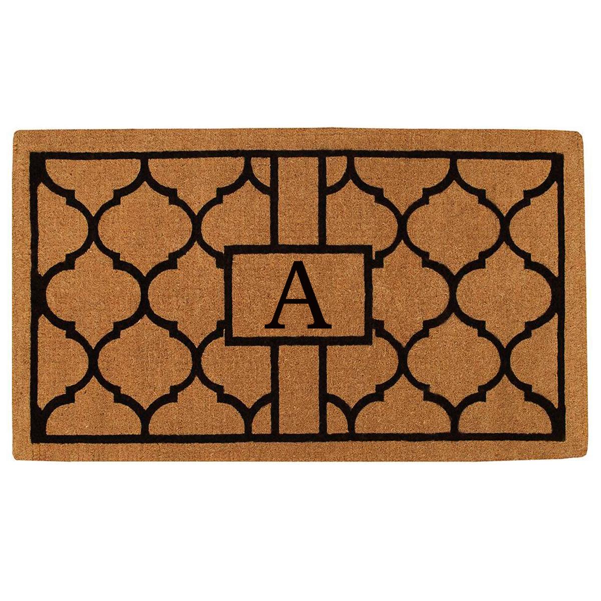 Pantera Monogram Doormat