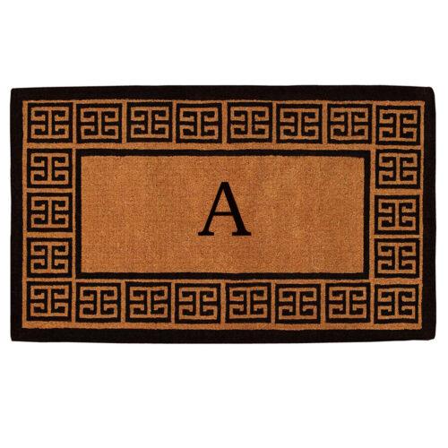 The Grecian Monogram Doormat