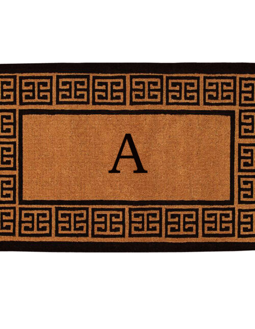 The Grecian Monogram Doormat