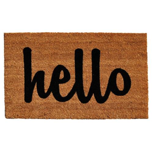 Hello Doormat Color Script